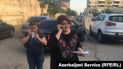 Khadija Ismayilova, an investigative journalist with RFE/RL's Azerbaijani Service, was released from prison in 2016 after serving 17 months for financial-crimes charges that she and supporters say were government retaliation for her extensive reporting on alleged corruption involving Azerbaijan's president and his relatives.