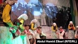 جانب من إحتفال في أربيل بالذكرى 67 لتأسيس جمهورية مهاباد