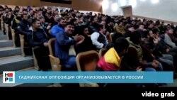 Ҳамоиши тоҷикҳо дар яке аз шаҳрҳои Русия. Моҳи сентябри 2014
