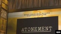 «Золотой глобус» в номинации «лучший фильм-драма» по итогам 2007 года присужден ленте о Второй мировой войне «Искупление» Джо Райта