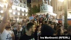 Protestat në Beograd kundër rezultatit të zgjedhjeve presidenciale