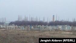 Кладбище в сельской местности Кыргызстана. Иллюстративное фото.