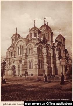 Володимирський собор у Києві, початок 1910-х років