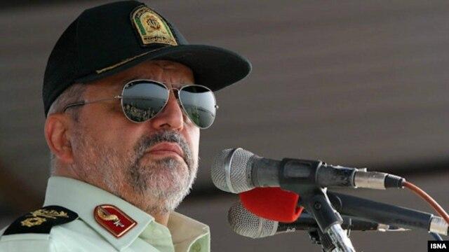 اسماعیل احمدیمقدم، فرمانده نیروی انتظامی lمیگوید که این پرونده به حفاظت اطلاعات سپاه واگذار شده است