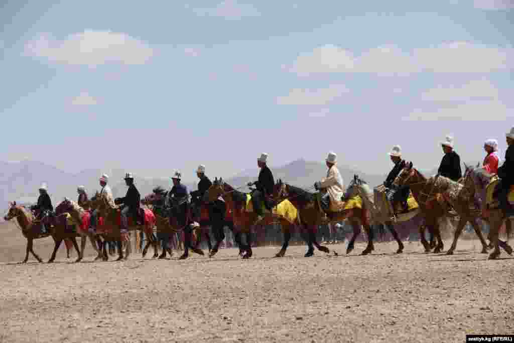 The festival is dedicated to the Kyrgyz horse, a potent symbol of Kyrgyz nomadic lifestyle.
