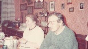 Наталья Телетова и Владимир Герасимов. Ленинград, 1980-е.