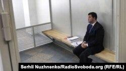 Роман Насіров в Апеляційному суді Києва, 13 березня 2017 року