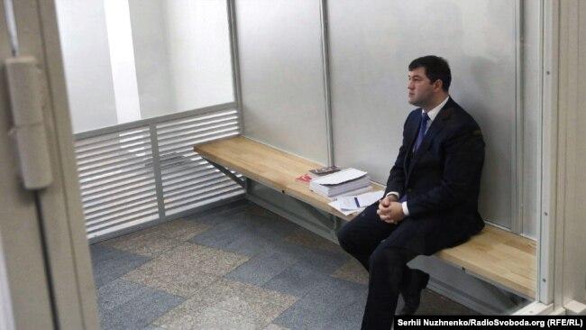 Роман Насіров в Апеляційному суді Києва
