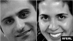 Прага маңында жол апатынан қаза болған Азат Еуропа/Азаттық Радиосы иран қызметінің тілшілері Амир Заманифар және Роза Хассанзаде Ажири. 29 қыркүйек 2009 жыл.