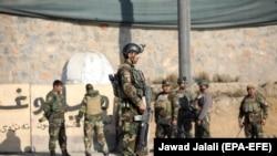 ავღანელი ჯარისკაცები ქაბულში, თავდასხმის შემდეგ 2019 წელს