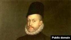 Портрет короля Испании Филиппа II (1527—1598). Алонсо Санчес Коэлльо, 1573 год