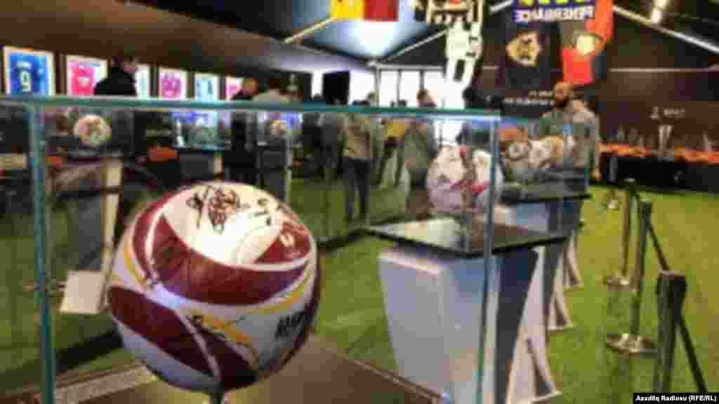 Bakıda UEFA Avropa Liqaslnın finalına həsr edilmiş muzey