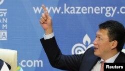 Қазақстан президенті Нұрсұлтан Назарбаевтың күйеу баласы Тимур Құлыбаев. Астана, 4 қазан 2011 жыл.