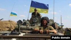 Українські військовослужбовці у зоні АТО. Вересень 2014 року. Ілюстраційне фото