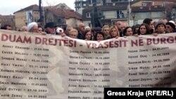 Pamje na protesta, 20 janar 2015