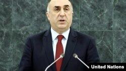 Azərbaycanın xarici işlər naziri Elmar Məmmədyarov, BMT-də çıxış edir, 28 sentyabr 2014