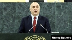 US -- Elmar Mammadyarov, Minister for Foreign Affairs of the Republic of Azerbaijan, addresses the general debate of the sixty-eighth session of the General Assembly. 28Sep2014