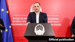 Прес-конференција на министерот за здравство, Венко Филипче