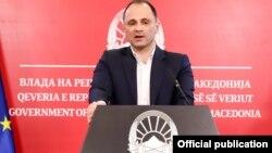 Прес-конференција на министерот за здравство, Венко Филипче.