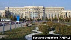 Здание министерства иностранных дел Казахстана. Астана, 16 октября 2011 года.