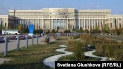 Здание министерства иностранных дел Казахстана. Астана.