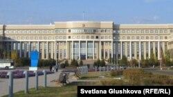 Здание министерства иностранных дел Казахстана в Астане.
