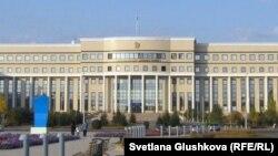 Здание министерства иностранных дел в Астане.