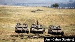 Ізраїльські танки на Голанських висотах, ілюстративне фото
