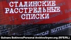 Обложка CD-диска «Сталинские расстрельные списки», подготовленного Московским обществом «Мемориал»