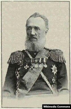 Самарқандни ишғол қилган Чор генерали Александр Баранов.