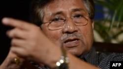 Пәкістанның бұрынғы президенті Первез Мушарраф. Карачи, 31 наурыз 2013 жыл.
