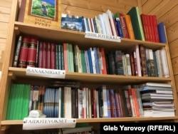 Библиотеке в Доме карельского языка