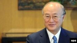 یوکیا آمانو، مدیر کل آژانس بین المللی انرژی اتمی