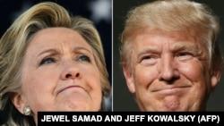 Х.Клинтон и Д.Трамп