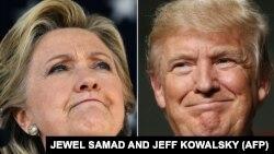 ԱՄՆ նախագահի թեկնածուներ Հիլարի Քլինթոն և Դոնալդ Թրամփ