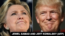 Гілларі Клінтон та Дональд Трамп
