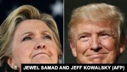 Хилари Клинтон а, Трамп Доналд а