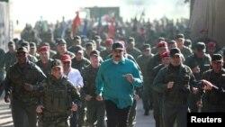 Президент Николас Мадуро аскерий машыгууга катышууда. 27-январь, 2019-жыл.