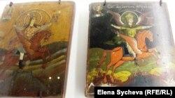 Архангел Михаил. Из коллекции Музея сибирской народной иконы