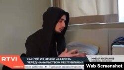 Эскерханов в репортаже канала RTVI