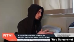 Эскерханов, RTVI телеканалан репортажехь.