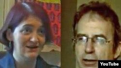 اما داناهیو (چپ) و پیتر کری، از نامزدهای فهرست اولیه بوکر ۲۰۱۰