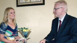 Maja Nikolić i Ivo Josipović