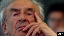 Elie Wiesel la New York în 2010