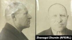 Фотография Ивана Завадовского, сделанная в тюрьме НКВД. Это один из снимков, сохранившихся в архиве в Актобе и переданных правнуку репрессированного.