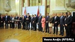 Premijer Aleksandar Vučić i ministri Vlade Srbije