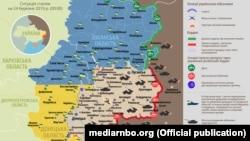 Ситуація в зоні бойових дій на Донбасі, 24 березня 2019 року