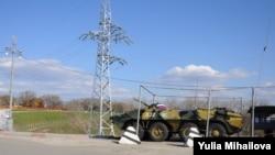 Postul de control al contingentului rusesc de menținere a păcii la Dubăsari