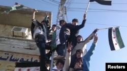 Протестите во Сирија