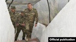 Ильхам Алиев, линия фронта 12.11.2016
